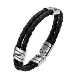 Bracelet cuir/acier All...