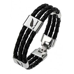 BRACELET ACIER ALL BLACKS...