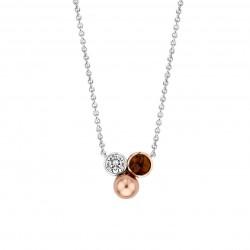 TI SENTO Necklace Gilded -...