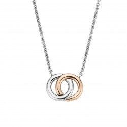 TI SENTO Necklace Gilded -...