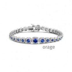 ORAGE-AR151 Bracelet bleu...